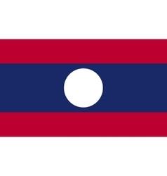 Laos flag image vector image