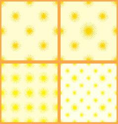 sun-set-seamless-pattern-01 vector image