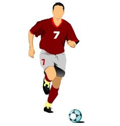football 01 vector image vector image