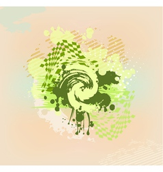 colorful abstract stain vector image vector image