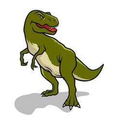 dinosaur 002 vector image vector image