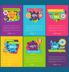 all products 90 total absolute final sale labels vector image