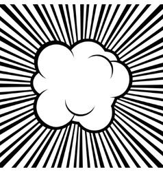 Comic Bubble vector image