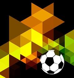 Creative soccer design vector