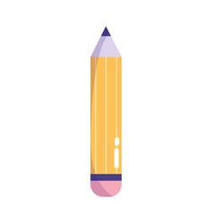 creativity pencil draw write isolated icon design vector image