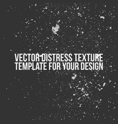 distress texture template vector image