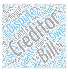 Ever Have A Problem With Your Credit Card Company vector