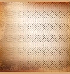 grunge polka dot background vector image