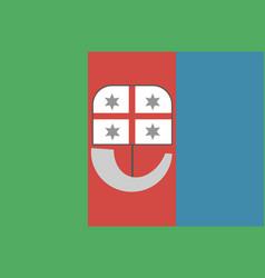 Liguria flag vector