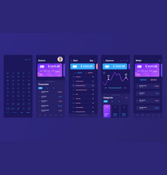 ui bank payment system vector image