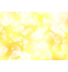 Bokeh background with sparkles vector image