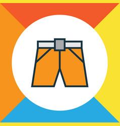 briefs colorful outline symbol premium quality vector image