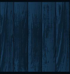 dark blue wooden textures vector image
