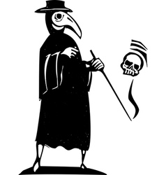 Plague Doctor vector image