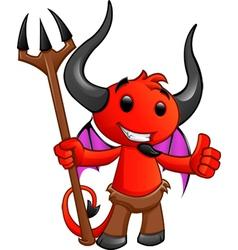 Devil character 2 vector