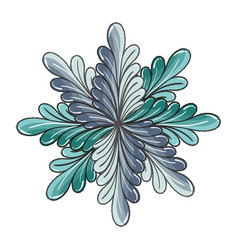 Nice plant decoration herbal botany vector