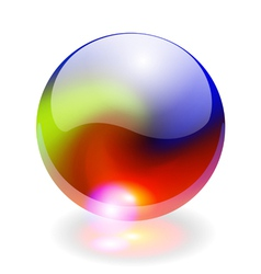 Rainbow sphere vector