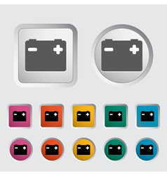 Battery icon 3 vector image vector image