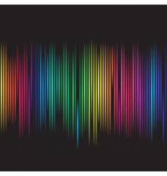 colorful spectrum vector image vector image