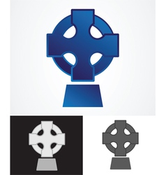 Celtic Cross Symbol vector image