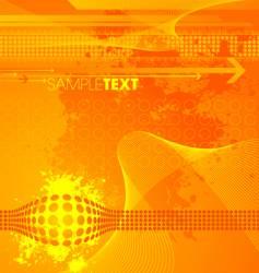 modern high tech background vector image