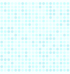 Cyan polka dot pattern seamless dot background vector