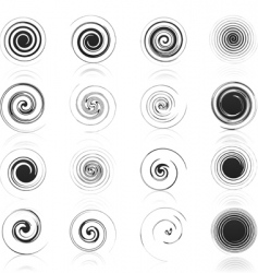 Spiral icon vector