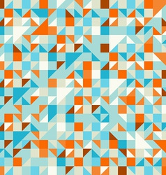 Turquoise Green and Blue pattern vector image