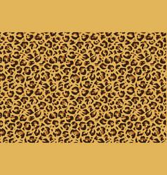 leopard seamless print cheetah jaguar exotic vector image