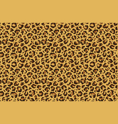 Leopard seamless print cheetah jaguar exotic vector