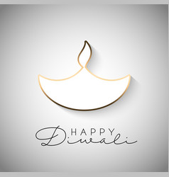 Minimilistic diwali background 2109 vector