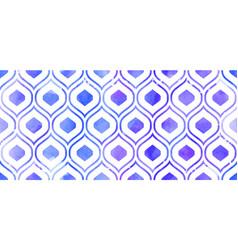 Morrocan ornament purple colors vector