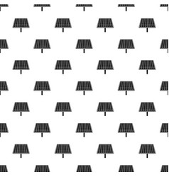 solar brand panel pattern seamless vector image