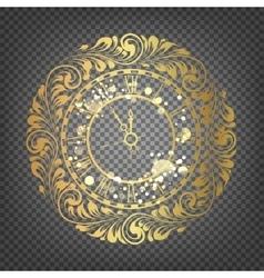 Happy new year symbol vector image