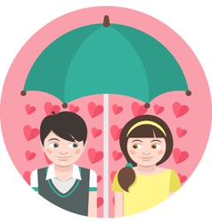 First Love vector image vector image