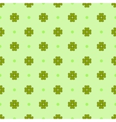 Flowers geometric seamless pattern 4308 vector image