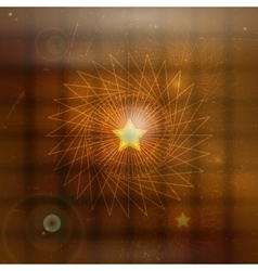 Abstract mystical background vector image vector image