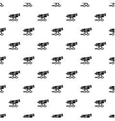 Coastal cannon pattern seamless vector