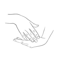female hands applying cream vector image