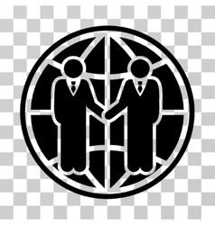 Global Partnership Icon vector
