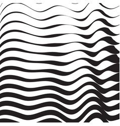 halftone pattern background striped waves lines vector image