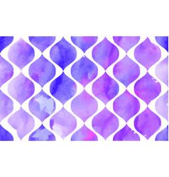 morrocan ornament purple colors vector image