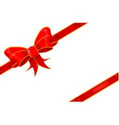Parcel bow vector