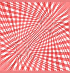 Red curved ray burst background - design from vector