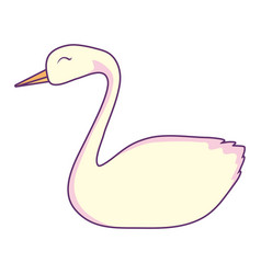Swan icon image vector
