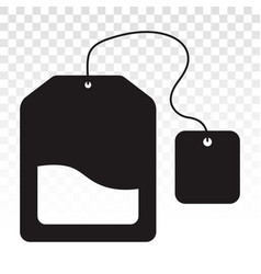 Teabags tea bag flat icons for apps and websites vector