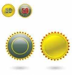 certificate stamp vector image vector image