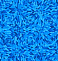 Checkered blue pattern vector image vector image