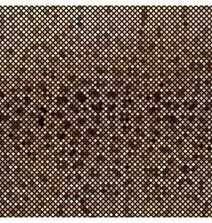 Mosaic brown abstraction vector image