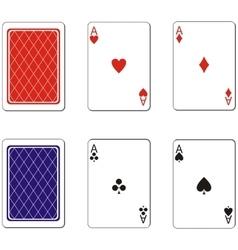 Playing card set 02 vector image